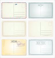 Briefkaart vector