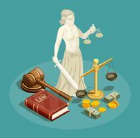 Isometrische wet ontwerpconcept