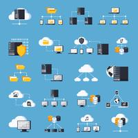 hosting services pictogrammen instellen