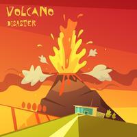 Volcano Ramp Illustratie vector