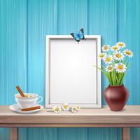 Mockup met licht frame
