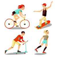 jonge renners mini-set