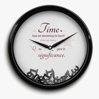 tijd stopte illustratie