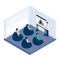 Coworking Training Illustratie