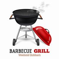 Barbecue Grill Illustratie vector