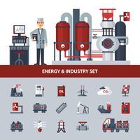 Energie en industrie ingesteld