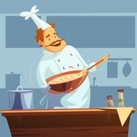 Cooking Workshop illustratie vector