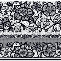 Oneindig behang, decoratie voor je ontwerp, lingerie en sieraden. vector