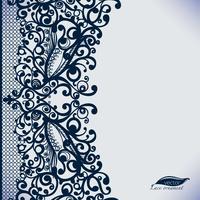 Vector Eindeloos behang, decoratie voor uw ontwerp, lingerie en sieraden.