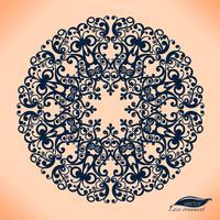 Cirkelkant voor decoratie. Thema, vakantie. vector