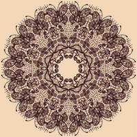 Vector abstracte cirkel kant lint