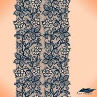 Sjabloon frame ontwerp voor kaart. Lace kleedje.