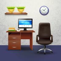 Cabinet ontwerp illustratie