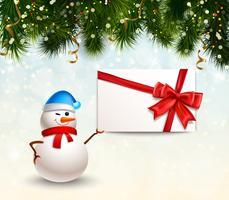 Kerstmis en Nieuwjaar achtergrond vector