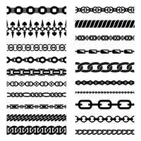 Horizontale kettingen-collectie