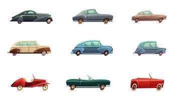 retro auto set