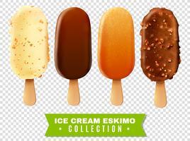 IJs Eskimo Pie-collectie vector