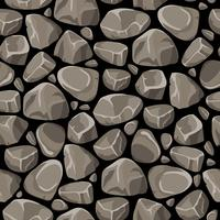 Rock Stone naadloze patroon vector