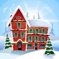 Kerst vectorillustratie vector