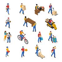 Logistiek en levering Icons Set
