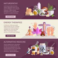Alternatieve geneeskunde Banners