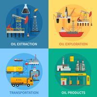 Oil Petrol Industry 2x2-afbeeldingen