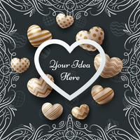kunst, verkoop, liefde, Valentijn, Gelukkige verjaardag - sjabloon vector