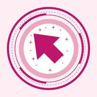 Cursor pictogram ontwerp vector