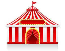 circus tent vectorillustratie vector