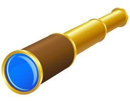 telescoop vectorillustratie vector
