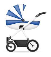 kinderwagen voorraad vectorillustratie