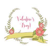Bruiloft grafische set, pijlen, harten, laurier, kransen, linten en labels. vector