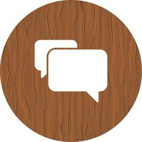 Chat pictogram ontwerp