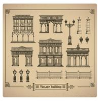 Retro gebouwen