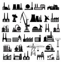 Industriële gebouwen 2 vector