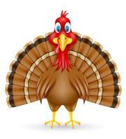 Turkije vogel vector illustratie
