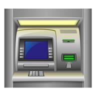 ATM-vectorillustratie