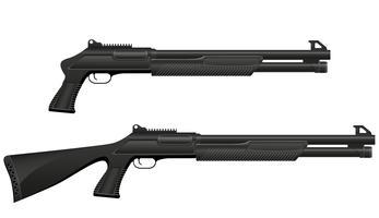 jachtgeweer vectorillustratie vector