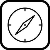 kompas pictogram ontwerp vector