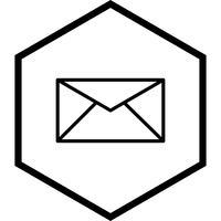 inbox pictogram ontwerp vector