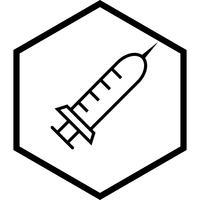 Injectie pictogram ontwerp