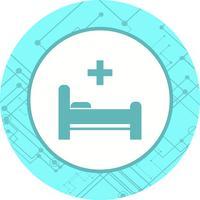 Bed pictogram ontwerp