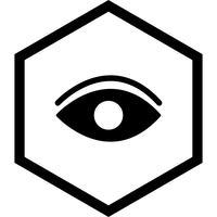 Oog pictogram ontwerp vector