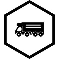 Kipper Truck pictogram ontwerp