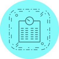 Weging Machine pictogram ontwerp
