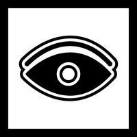 Oog pictogram ontwerp