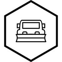 Sneeuwschuiver pictogram ontwerp