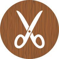 Schaar pictogram ontwerp vector