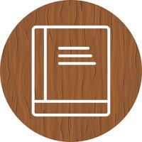 Boek pictogram ontwerp vector