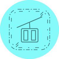 Stoellift pictogram ontwerp